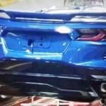 2020 Corvette C8 Rear End