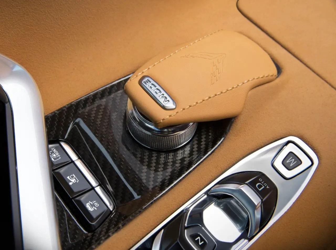 C8 Corvette Gear Selector
