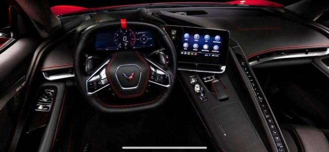 C8 Corvette Z51 Interior
