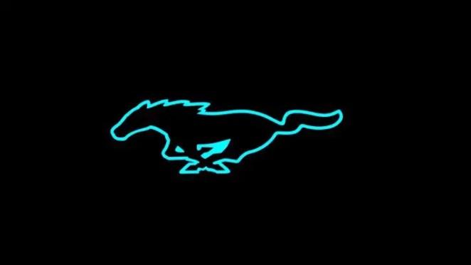 Ford Mustang Mach 1 Or Mach E Logo