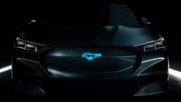 Ford Mustang Mach 1 Or Mach E Teaser Photo