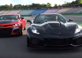 Corvette ZR1 vs Camaro ZL1 1LE