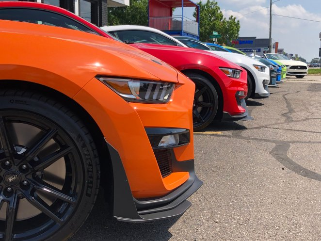 Ford Performance Vehicle Display Woodward 2019
