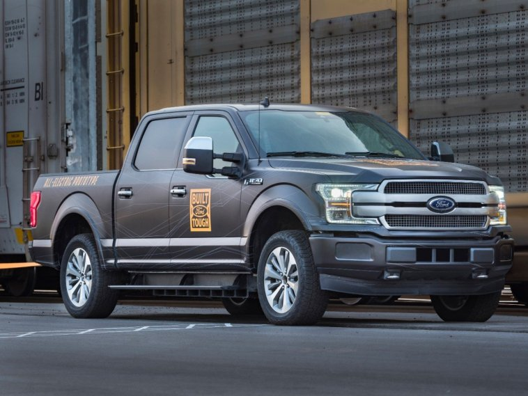 2021 2022 2023 Electric Ford F-150
