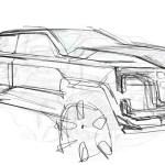 2020 GMC Sierra HD Original Design Sketch