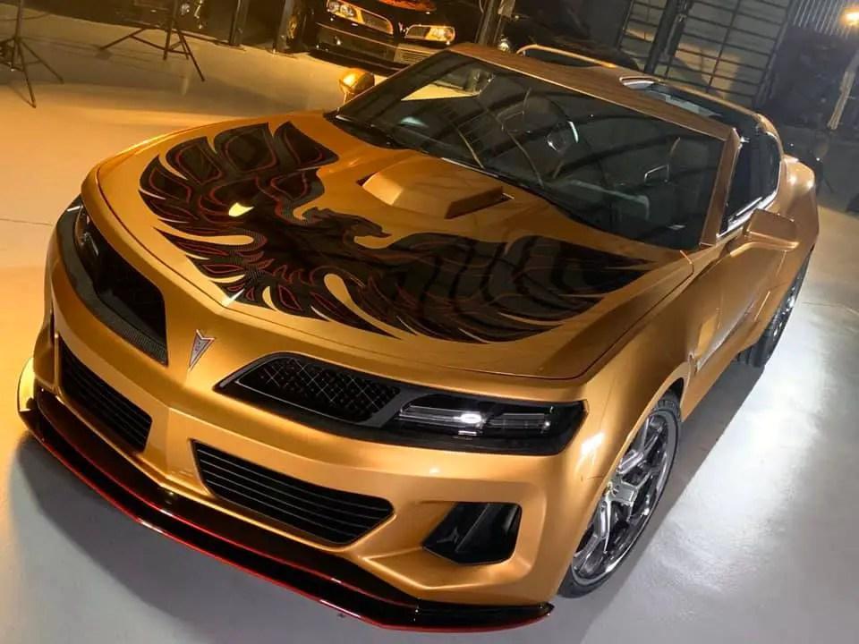 Trans Am Depot Reveals Gold Super Duty T-Top Model For ...