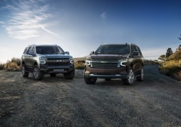 2021 Chevrolet Tahoe and Suburban GM SUV T1 Platform