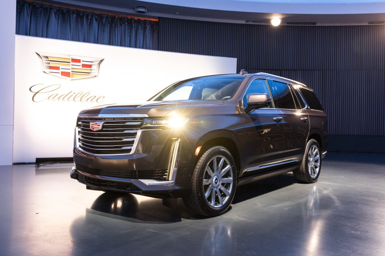 2021 cadillac escalade order books are open | muscle cars