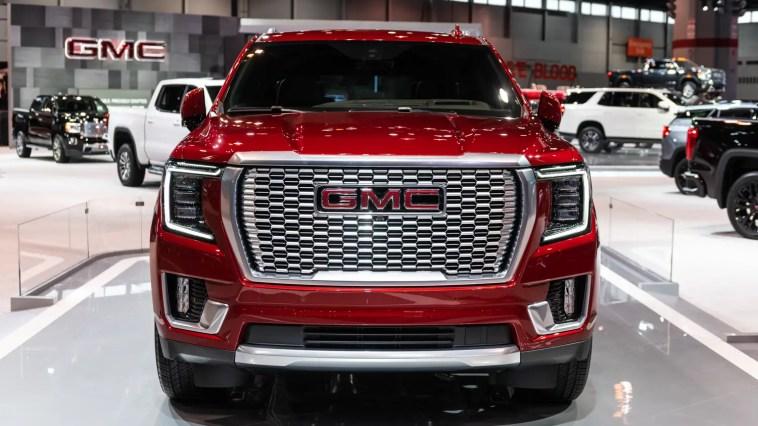 2021 GMC Yukon Denali GM SUV T1 Platform