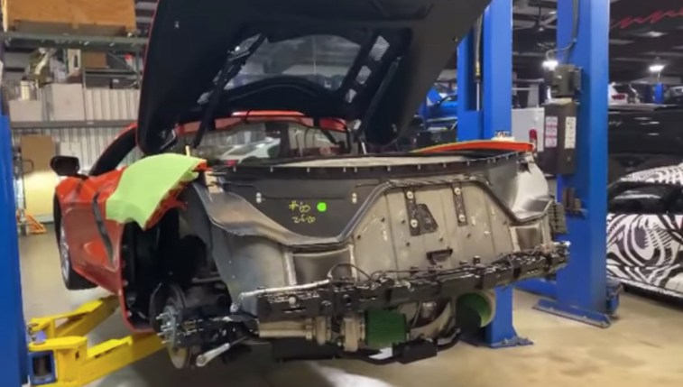 Twin Turbo C8 Corvette