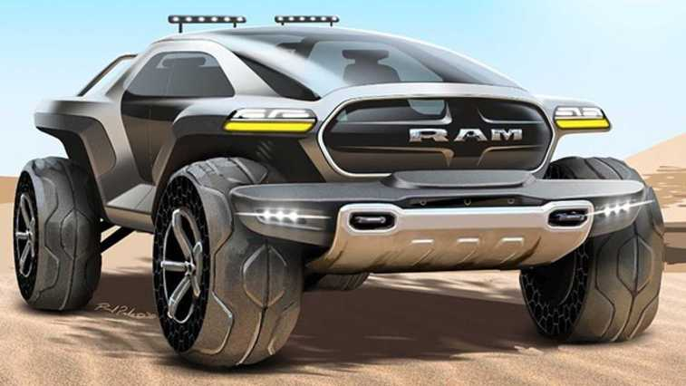 Ram Trucks Sketch Battle