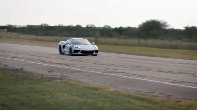 C8 Corvette top speed