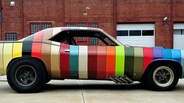 paint chip plymouth 'cuda