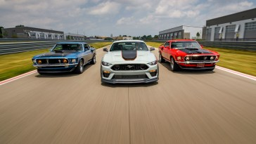 2021 Ford Mustang Mach 1 Muscle Car