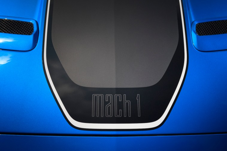 2021 Ford Mustang Mach 1 Logo