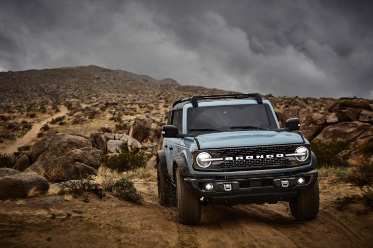 2021 Ford Bronco Badlands Sasquatch Package