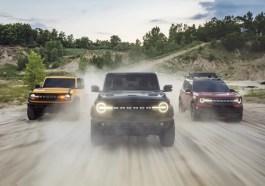 2021 Ford Bronco 2-Door 4-Door Sport