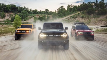 2021 Ford Bronco 2-Door 4-Door Sport