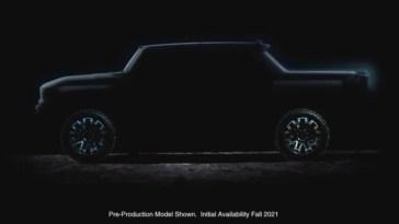 2022 Hummer EV Teaser GMC