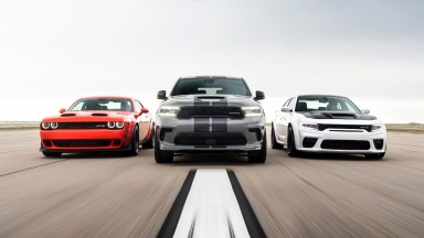 2021 Dodge Muscle Car Family Durango Hellcat Charger Redeye Challenger Super Stock