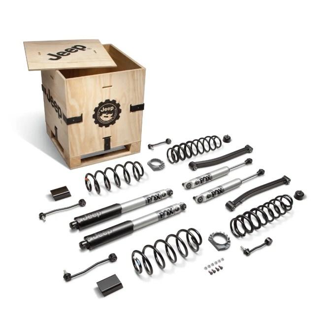 Jeep Performance Parts Wrangler Gladiator EcoDiesel Mopar 2 Inch Lift Kit
