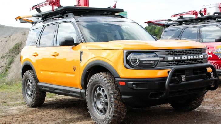 2021 Ford Bronco Sport Badlands Trail Rig Concept
