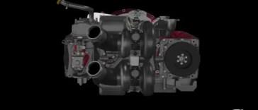 Achates Cummins Diesel M88 Engines
