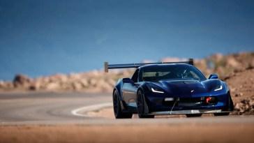 Fastest Corvette Pikes Peak C7 Z06