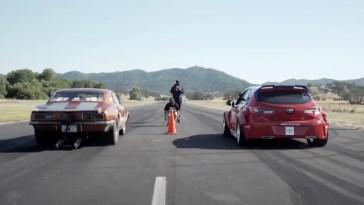 Camaro drag race