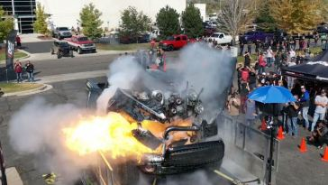 Cummins Diesel Explosion