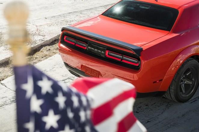 2021 Dodge Challenger SRT Super Stock USA America Muscle Car