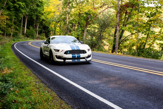 Shelby GT350 Heritage Pack On The Road