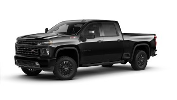 2021 Silverado HD Midnight Edition