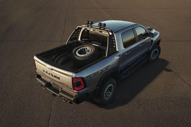 2021 Ram TRX Accessories Mopar Tire Mount Sport Bar Lights