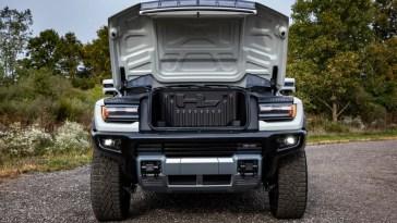 2022 GMC Hummer EV Frunk