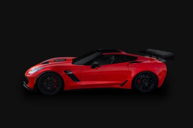 Side Profile of the Callaway Champion C7 Corvette Z06