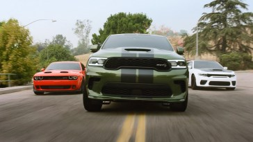 Dodge SRT Lineup in Family Motto Ad 2021 Challenger Charger Durango