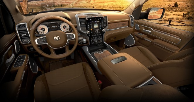 Longhorn 10th Anniversary Edition interior