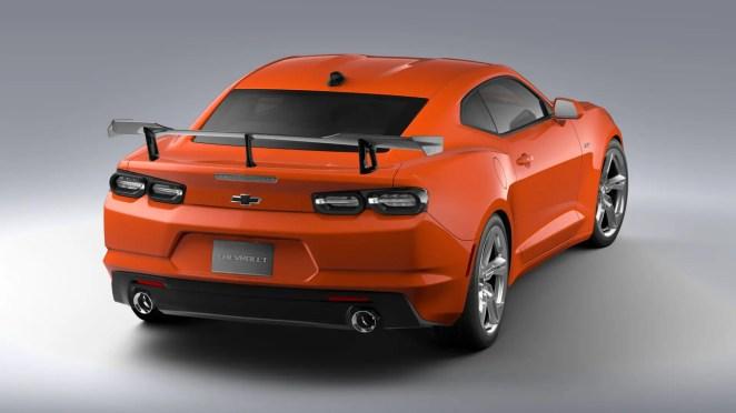 Chevrolet Camaro SS ZL1 1LE High Wing Spoiler Carbon Fiber performance accessory
