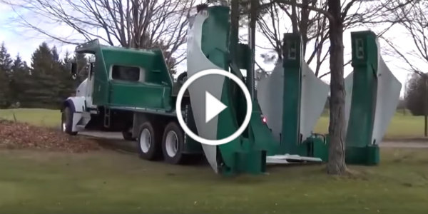 See In Action The Tree Relocation Machine From Dutchman Industries Now You Can Move A Whole Tree Without Cutting It Down Muscle Cars Zone
