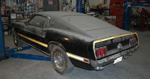1969 Cobra Jet Mustang Barn Find 33