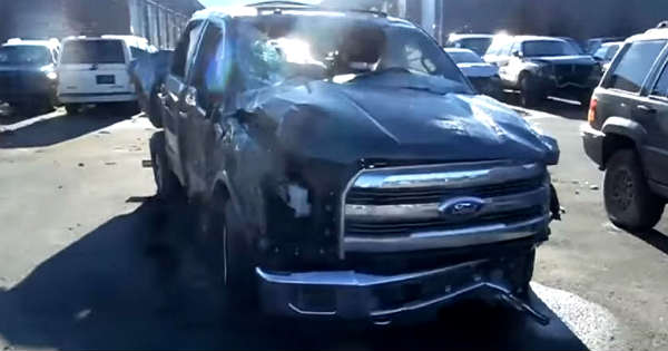 Rollover Damage Ford F150 Aluminum Body Vs Chevy