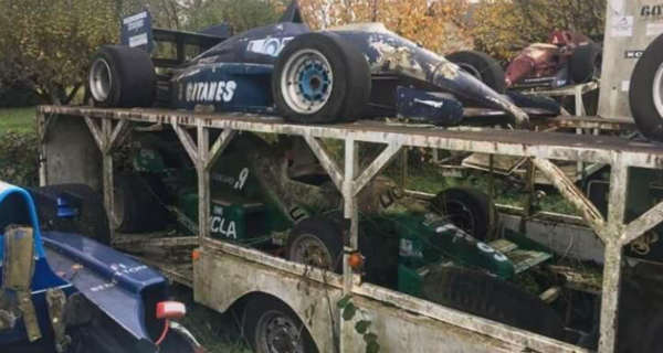 Amazing Abandoned F1 Cars Are Rusting Away 5
