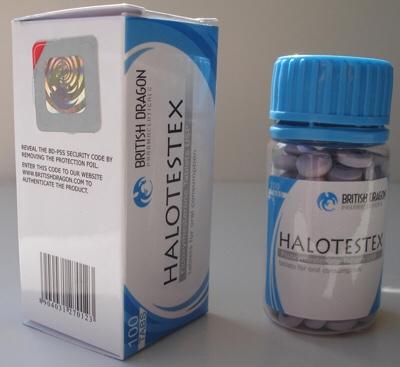 Oral steroid halotestin