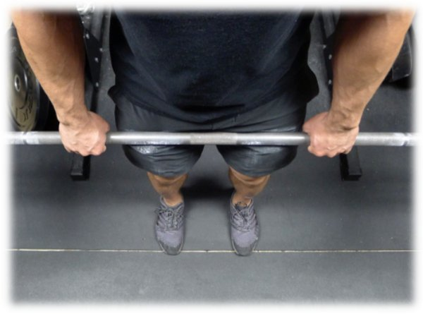 romanian deadlift grip