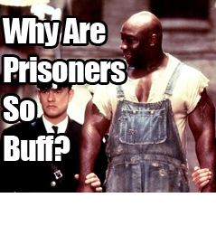 why are prisoners so buff