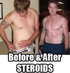 Craig Davidson's Steroid Transformation