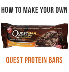 How To Make Low Carb Quest Protein Bars