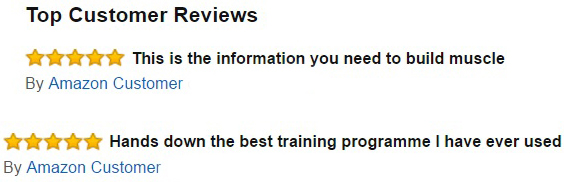Reviews of THT Training on Amazon (US, UK & Canada)