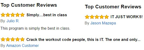 Reviews of THT Training on Amazon (US, UK, Canada)